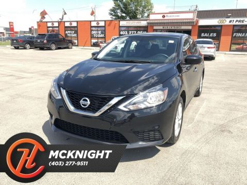 Pre-Owned 2017 Nissan Sentra 1.8 SV / Sunroof / Back up cam