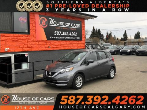 Pre-Owned 2017 Nissan Versa Note 1.6 SV / Heated seats,Back up camera