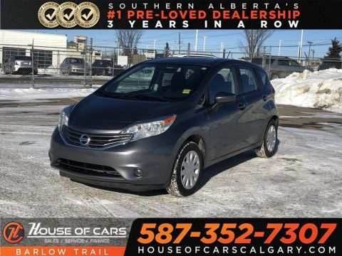Pre-Owned 2016 Nissan Versa Note 1.6 SV /Back up Camera / Heated Seats