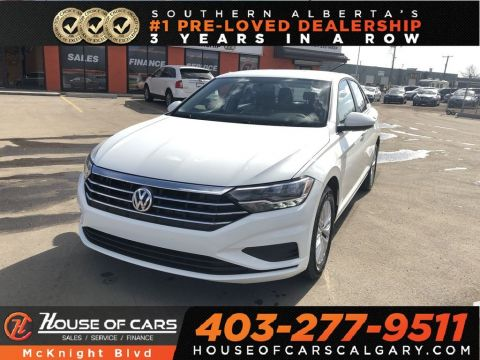 Pre-Owned 2019 Volkswagen Jetta 1.4 TSI Comfortline / Back Up Cam / Bluetooth