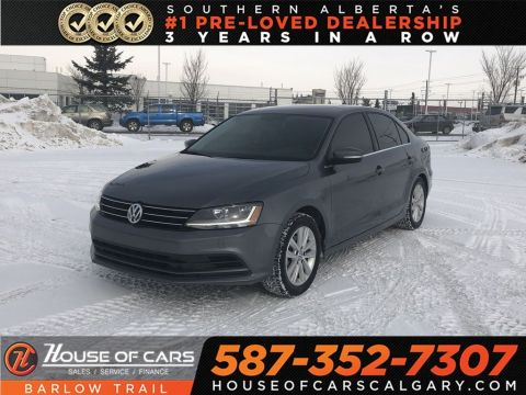 Pre-Owned 2017 Volkswagen Jetta Wolfsburg Edition / Back up Camera / Sunroof