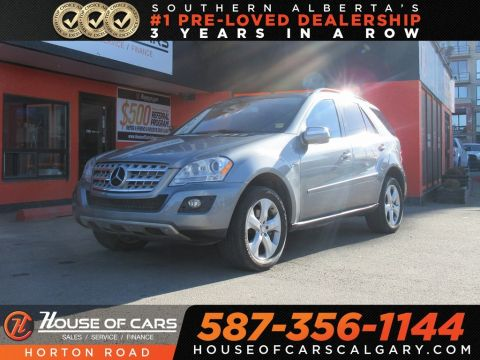 Pre-Owned 2010 Mercedes-Benz M-Class ML350 BlueTEC 4MATIC/ AWD