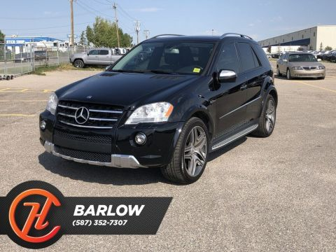 Pre-Owned 2010 Mercedes-Benz M-Class ML63 AMG / Heated and Cooled Leather Seats / Navi