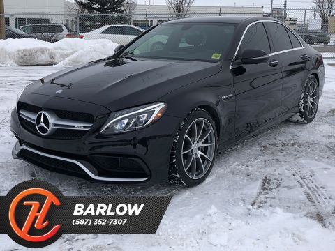 Pre-Owned 2016 Mercedes-Benz C-Class 4dr Sdn AMG C 63 RWD / Navi / Sunroof