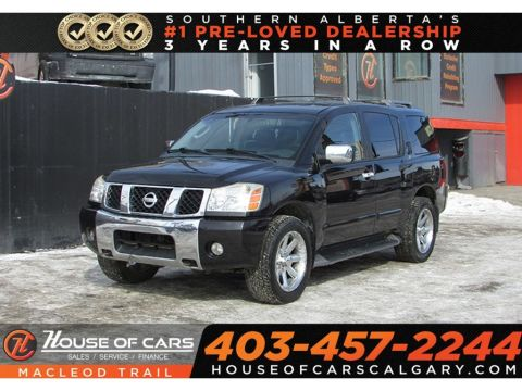 Pre-Owned 2004 Nissan Armada LE Heated seats,7 passenger,AWD
