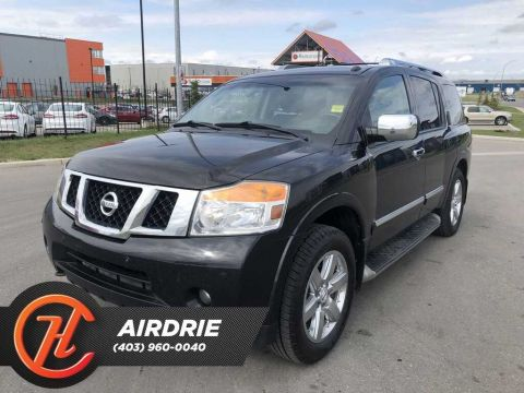 Pre-Owned 2012 Nissan Armada Platinum Edition w/8-Seat (A5)