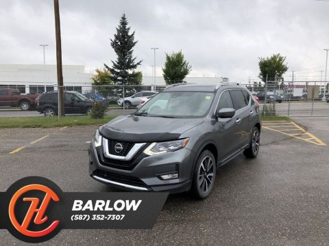 Pre-Owned 2018 Nissan Rogue SL / Leather / Moonroof / Navi