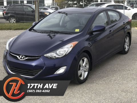 Pre-Owned 2012 Hyundai Elantra 4dr Sdn GLS / Sunroof / Heated Seats
