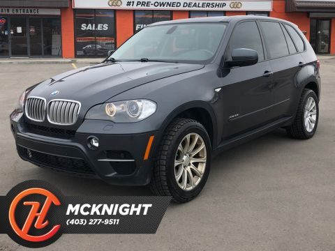 Pre-Owned 2011 BMW X5 AWD 4dr 35i / Leather / Navi / 7 Passenger