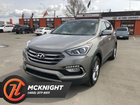 Pre-Owned 2017 Hyundai Santa Fe Sport 2.4 SE / Leather / Sunroof / Back Up Cam
