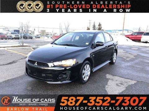 Pre-Owned 2017 Mitsubishi Lancer ES / Back up Camera / Bluetooth