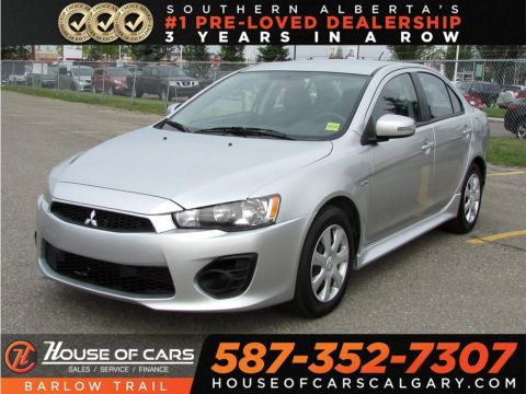 Pre-Owned 2017 Mitsubishi Lancer ES / Back Up Camera,Bluetooth
