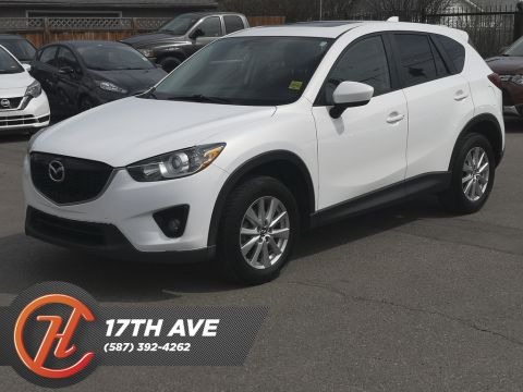 Pre-Owned 2015 Mazda CX-5 AWD GS / Sunroof / Leather / Back Up Camera
