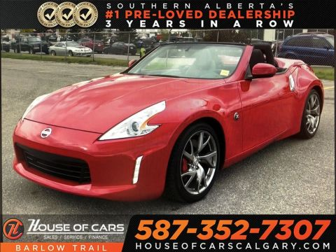 Pre-Owned 2017 Nissan 370Z Sport Touring w/Black Top