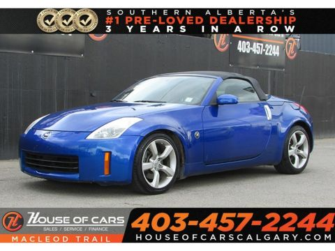Pre-Owned 2007 Nissan 350Z Base w/Black Top/Roadster-Calgary