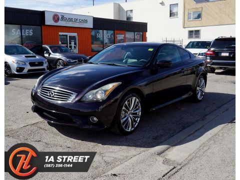 Pre-Owned 2011 INFINITI G37 2dr x AWD