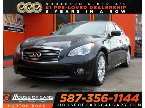 Pre-Owned 2012 INFINITI M35h Base (A7)/ SUNROOF/ BACK CAMERA/ HEATED WHEEL