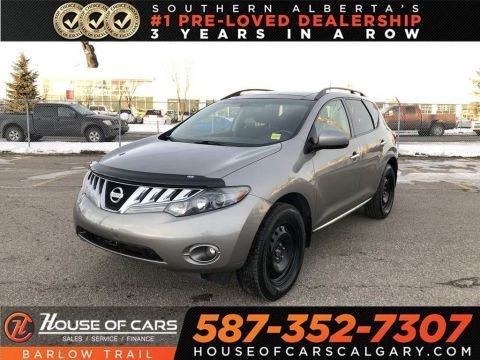 Pre-Owned 2009 Nissan Murano SL / Back up camera / sunroof
