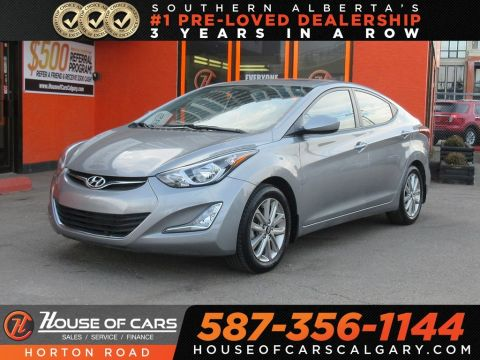 Pre-Owned 2016 Hyundai Elantra GL/ Sunroof/ Heated Seats