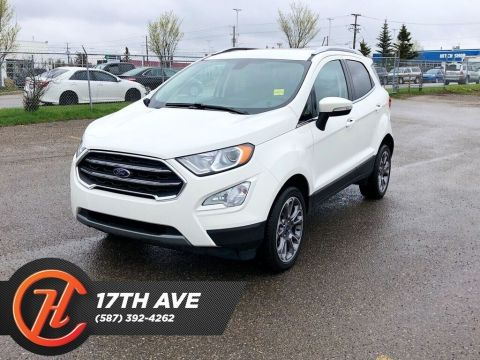 Pre-Owned 2018 Ford EcoSport Titanium / Leather / Navi / Back up cam