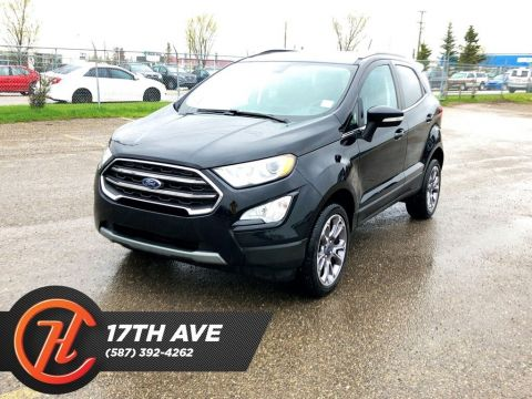 Pre-Owned 2018 Ford EcoSport Titanium / Back Up Camera / Navi