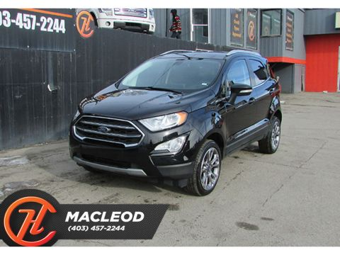 Pre-Owned 2019 Ford EcoSport Titanium 4WD LEATHER BACKUP CAM