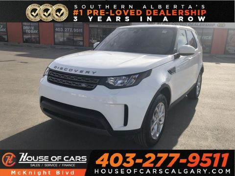 Pre-Owned 2018 Land Rover Discovery SE / Leather / Sunroof / Navi