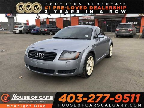 Pre-Owned 2002 Audi TT 1.8L / Leather