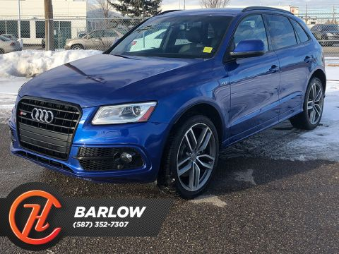 Pre-Owned 2015 Audi SQ5 quattro 4dr 3.0T Technik / Leather / Sunroof