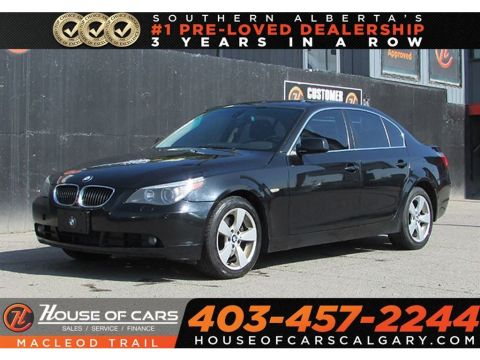 Pre-Owned 2007 BMW 525 xi / Mechanic special- Calgary