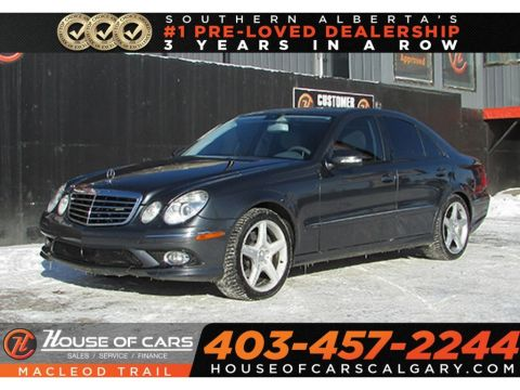 Pre-Owned 2009 Mercedes-Benz E-Class 3.5 4Matic/ Sunrrof/ Navi/ Heated seats/ Bluetooth