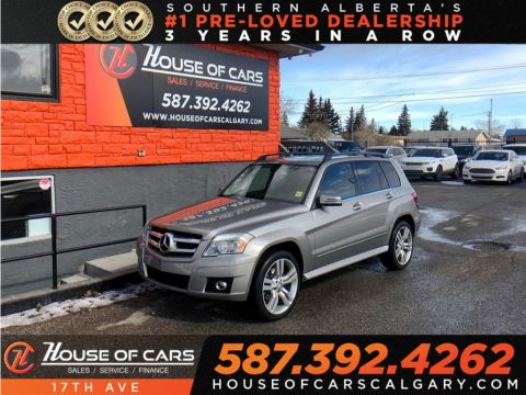 Pre-Owned 2010 Mercedes-Benz GLK GLK350 4MATIC / Heated seats / Bluetooth