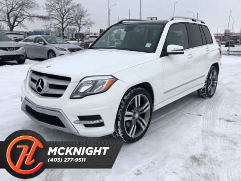 Pre-Owned 2013 Mercedes-Benz GLK 4MATIC / Leather / Sunroof / Back up cam