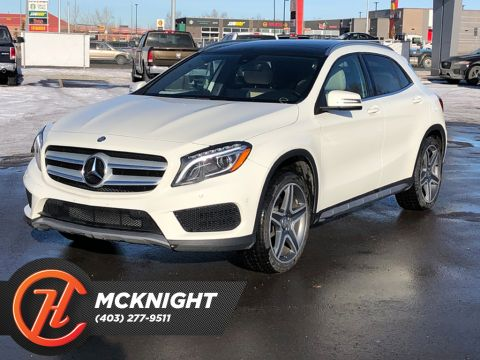 Pre-Owned 2016 Mercedes-Benz GLA Leather / Sunroof / Back up cam