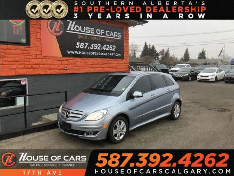 Pre-Owned 2008 Mercedes-Benz B-Class Turbo / Bluetooth / Sunroof