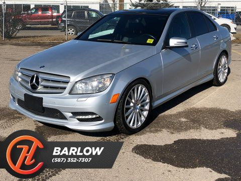 2011 Mercedes-Benz C-Class 4dr Sdn C350 4MATIC / Leather / Sunroof
