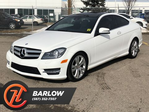 Pre-Owned 2013 Mercedes-Benz C-Class 2dr Cpe C 350 4MATIC / Navi / Leather