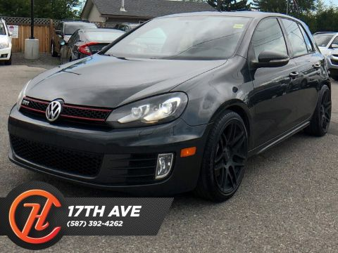 Pre-Owned 2010 Volkswagen GTI GTI / Leather / Sunroof / Bluetooth